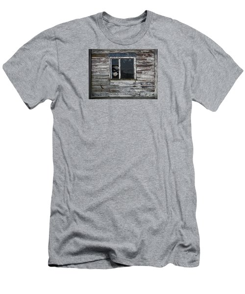 At The Window Men's T-Shirt (Slim Fit) by Nareeta Martin