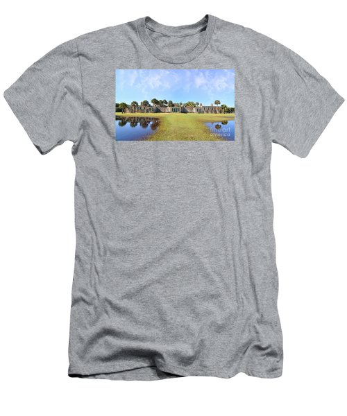 Atalaya Castle At Huntington Men's T-Shirt (Athletic Fit)