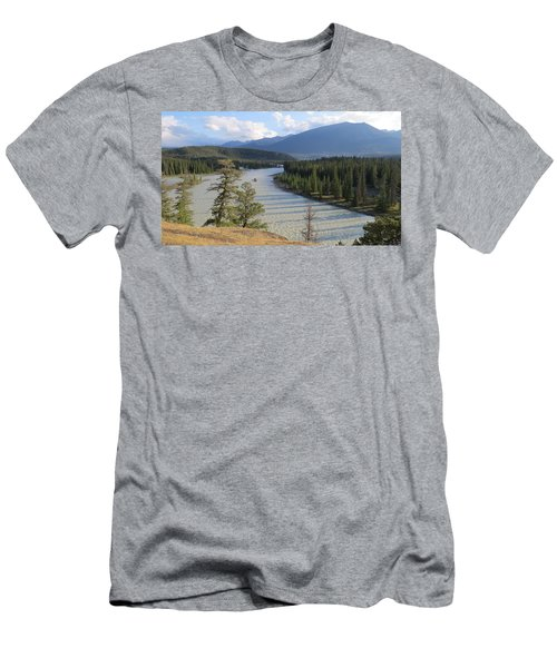 Athabasca River - Jasper Men's T-Shirt (Athletic Fit)