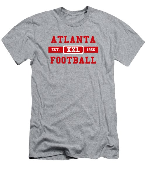 Atlanta Falcons Retro Shirt 2 Men's T-Shirt (Slim Fit) by Joe Hamilton