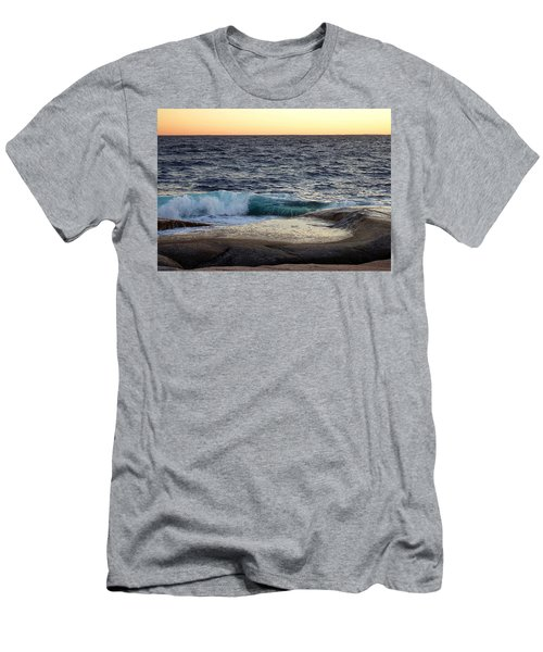 Atlantic Ocean, Nova Scotia Men's T-Shirt (Athletic Fit)