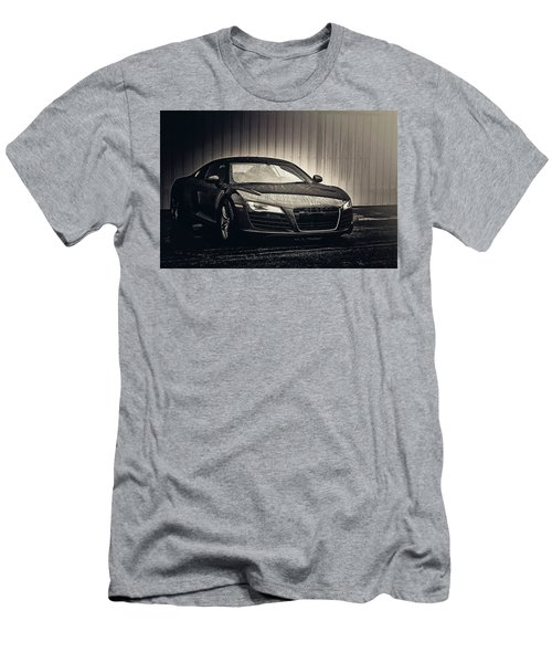 Men's T-Shirt (Athletic Fit) featuring the photograph Audi R8 by Joel Witmeyer
