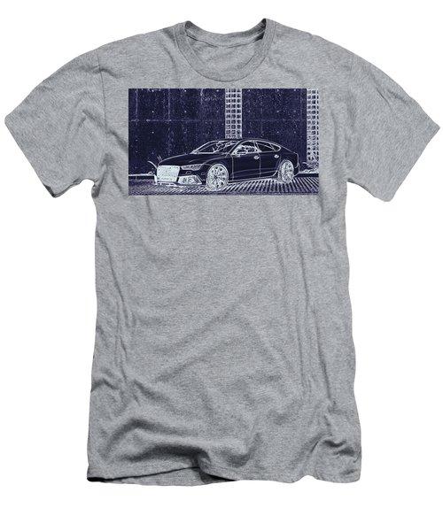 Audi Rs7 Vossen  Men's T-Shirt (Slim Fit) by PixBreak Art