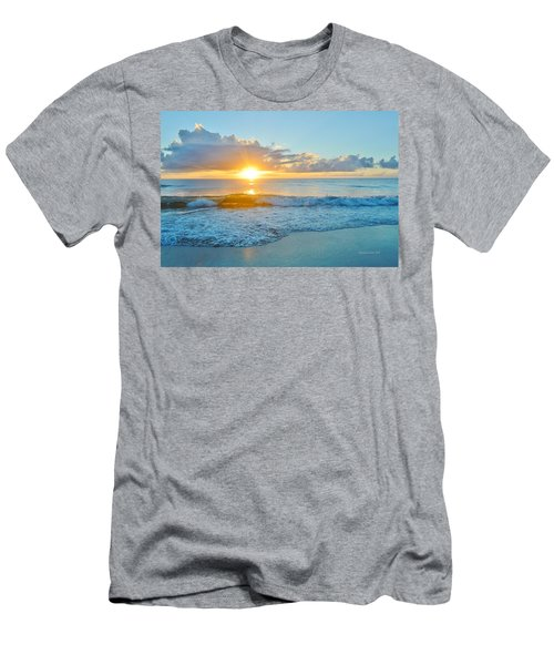 August 12 Nags Head, Nc Men's T-Shirt (Athletic Fit)