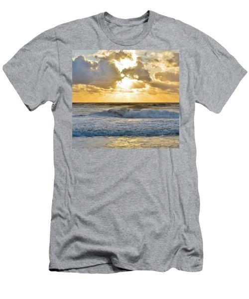 August Sunrise Men's T-Shirt (Athletic Fit)