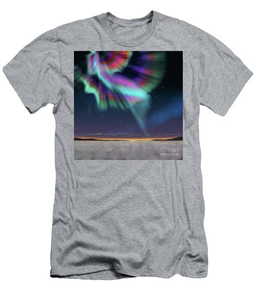 Aurora At Dawn Men's T-Shirt (Slim Fit) by Atiketta Sangasaeng