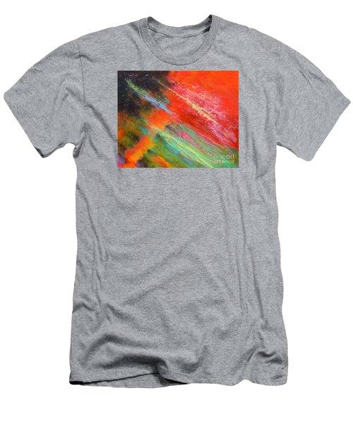 Fantasies In Space Painting Series. Title. Aurora De Fiero. Men's T-Shirt (Athletic Fit)