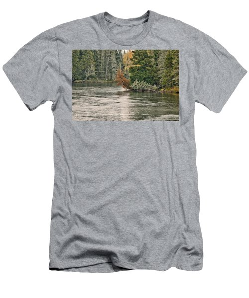 Ausable River 9899 Men's T-Shirt (Athletic Fit)