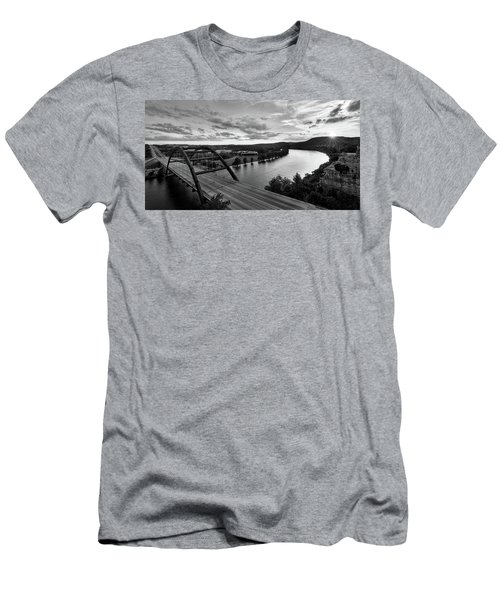 Austin 360 Pennybacker Bridge Sunset Men's T-Shirt (Athletic Fit)