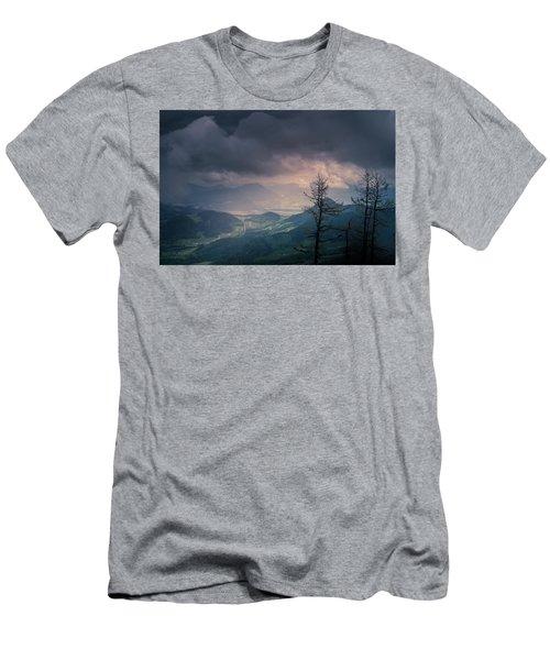 Austrian Alps Men's T-Shirt (Athletic Fit)