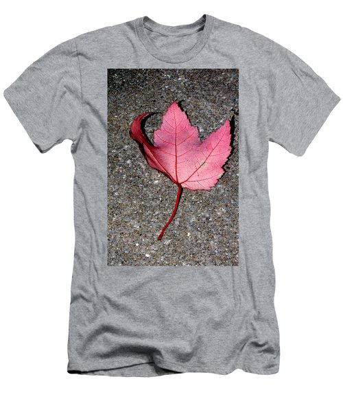 Autum Maple Leaf 2 Men's T-Shirt (Athletic Fit)