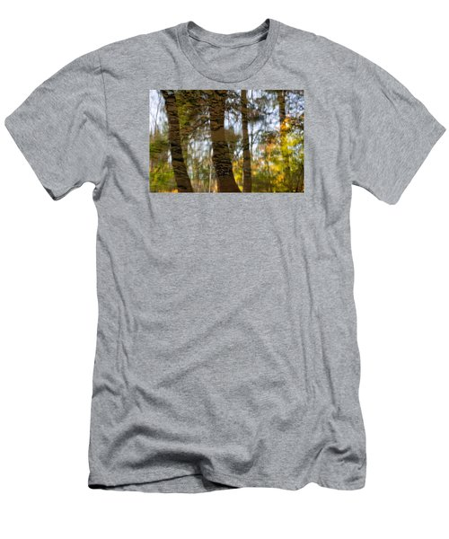 Autumn Abstract Men's T-Shirt (Athletic Fit)