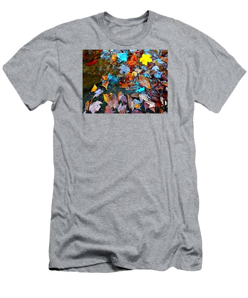 Autumn B 2015 124 Men's T-Shirt (Slim Fit) by George Ramos