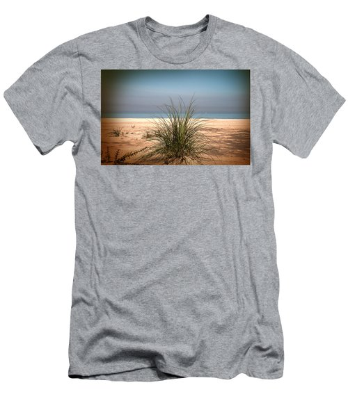 Autumn Beach Men's T-Shirt (Athletic Fit)