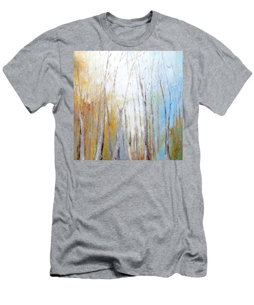 Autumn Bliss Men's T-Shirt (Slim Fit) by Dina Dargo