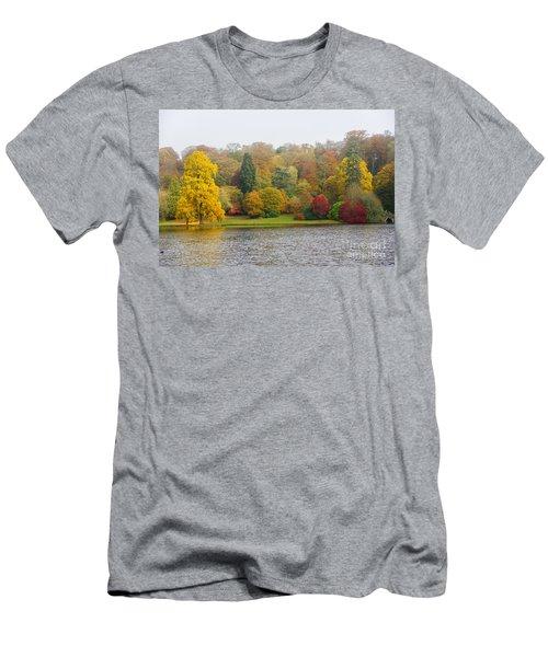 Autumn Colous Men's T-Shirt (Athletic Fit)