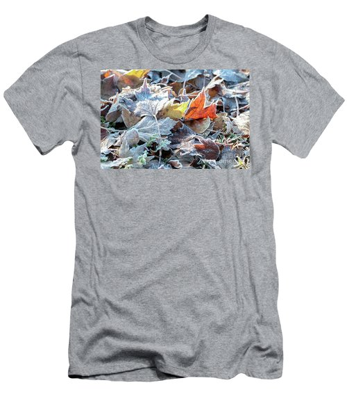 Men's T-Shirt (Athletic Fit) featuring the photograph Autumn Ends, Winter Begins 3 by Linda Lees