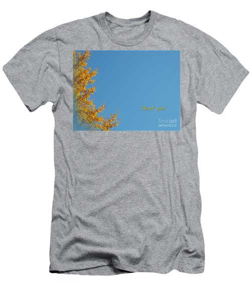 Autumn Ginkgo Tree Men's T-Shirt (Athletic Fit)