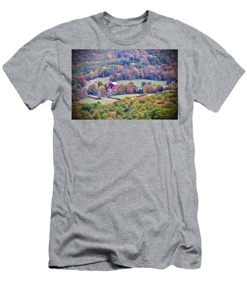 Autumn View, Mohonk Preserve Men's T-Shirt (Athletic Fit)