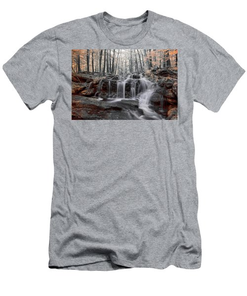 Men's T-Shirt (Athletic Fit) featuring the photograph Autumn In Spring Infrared by Brian Hale