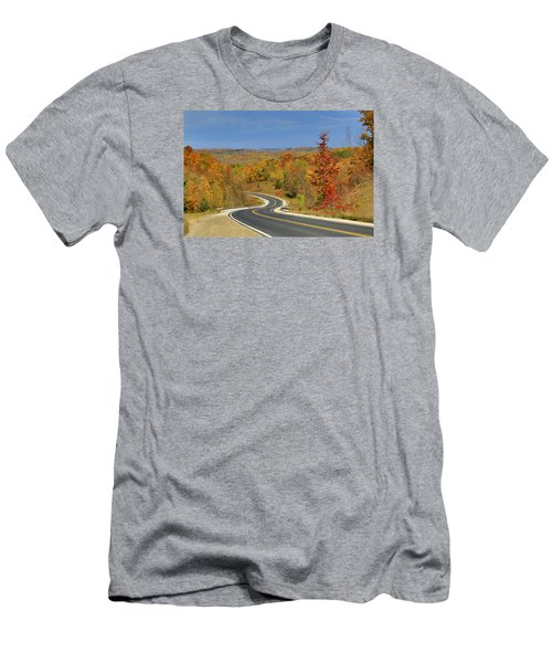 Men's T-Shirt (Slim Fit) featuring the photograph Autumn In The Hockley Valley by Gary Hall