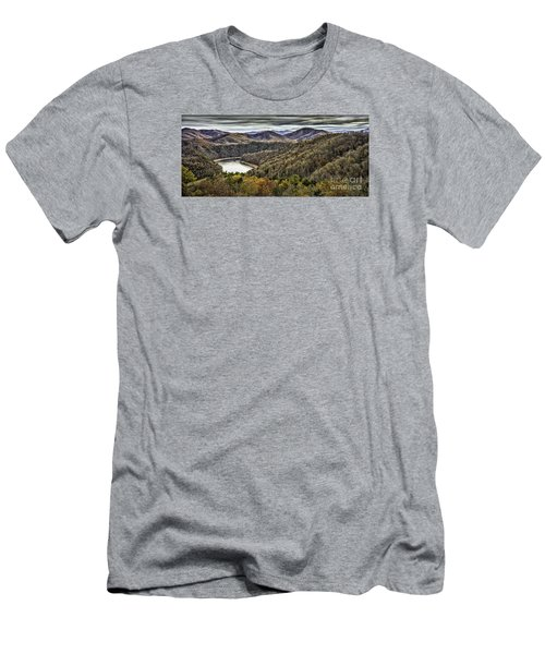 Autumn In The Mountains At Fontana Lake Men's T-Shirt (Athletic Fit)