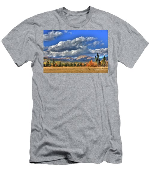 Autumn In The Rockies Men's T-Shirt (Athletic Fit)