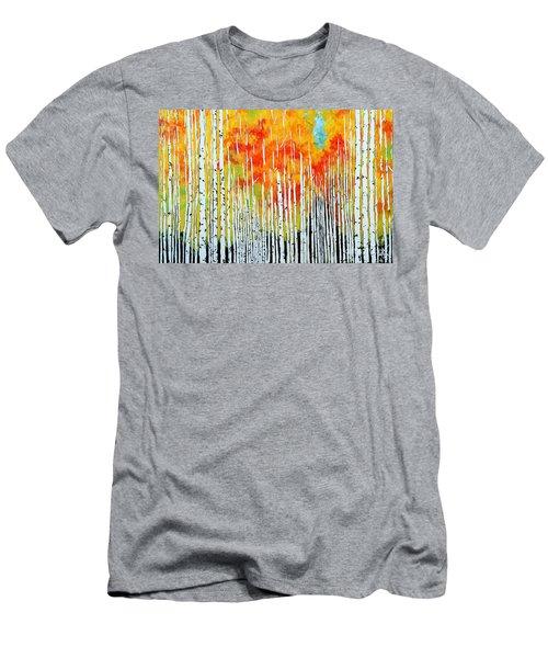 Autumn Men's T-Shirt (Slim Fit) by Jackie Carpenter