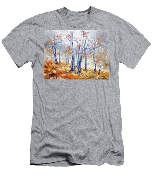 Autumn Mist - Morning Men's T-Shirt (Slim Fit) by Irek Szelag