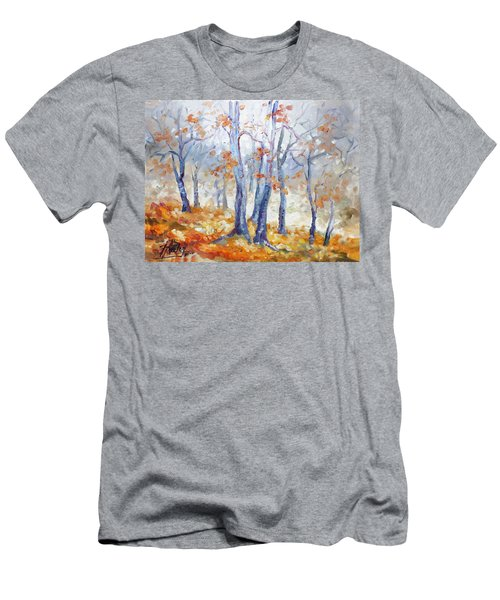 Autumn Mist - Morning Men's T-Shirt (Athletic Fit)