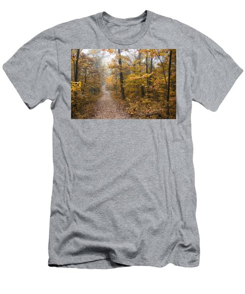 Autumn Morning Men's T-Shirt (Slim Fit) by Ricky Dean