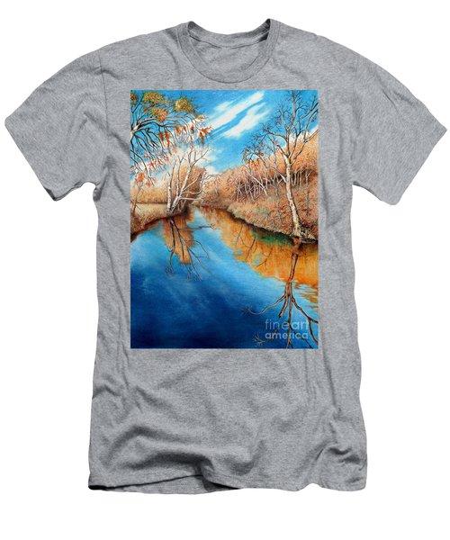 Autumn On The Elkhorn Men's T-Shirt (Athletic Fit)