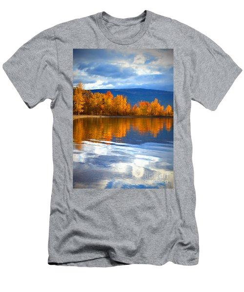 Autumn Reflections At Sunoka Men's T-Shirt (Athletic Fit)