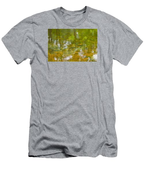 Men's T-Shirt (Slim Fit) featuring the photograph Autumn Reflections by Wanda Krack