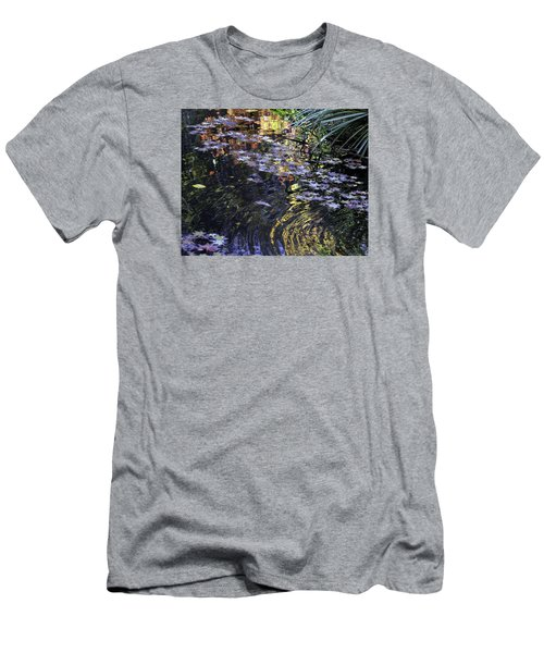 Autumn Ripples Men's T-Shirt (Slim Fit) by Linda Geiger