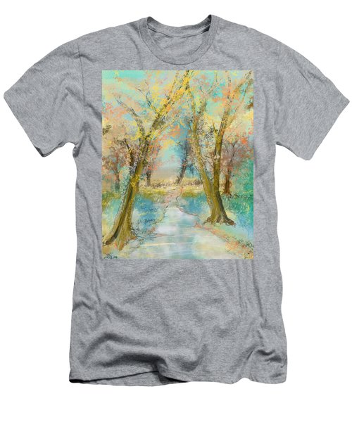 Autumn Sketch Men's T-Shirt (Slim Fit)