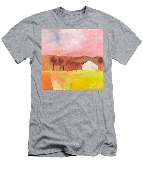 Men's T-Shirt (Athletic Fit) featuring the painting Autumn Stillness by Michelle Abrams