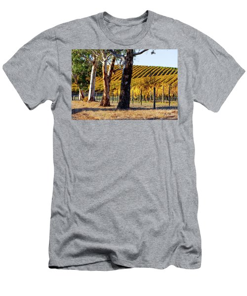 Men's T-Shirt (Slim Fit) featuring the photograph Autumn Vines by Bill Robinson
