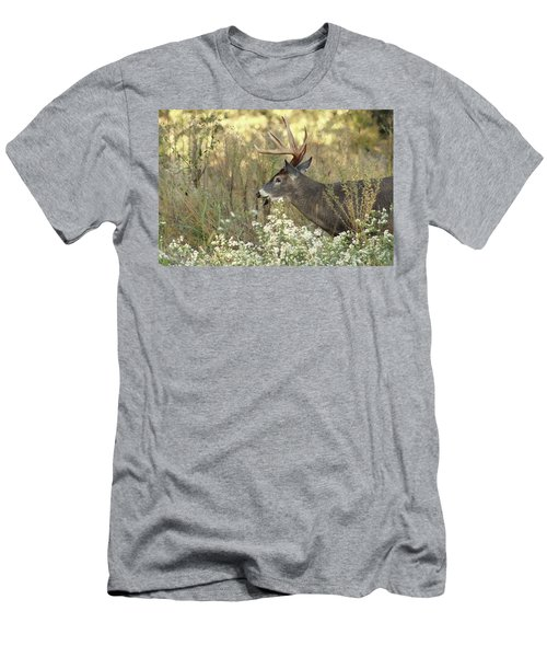 Autumn Whitetail In The Smokies Men's T-Shirt (Athletic Fit)