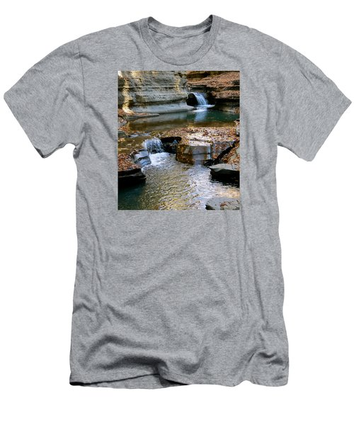 Autumnal Pool Men's T-Shirt (Athletic Fit)