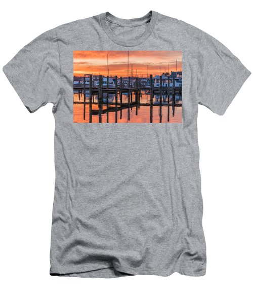 Autumnal Sky Men's T-Shirt (Athletic Fit)