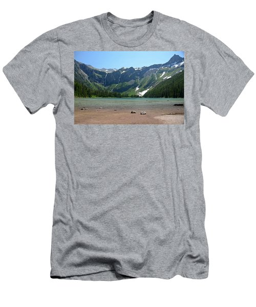 Avalanche Lake Men's T-Shirt (Athletic Fit)