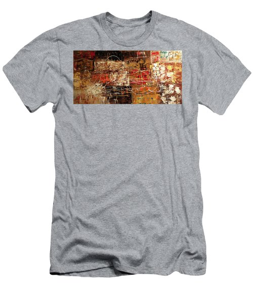 Men's T-Shirt (Slim Fit) featuring the painting Avant Garde by Carmen Guedez