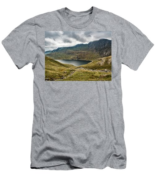 Awesome Hike Men's T-Shirt (Athletic Fit)