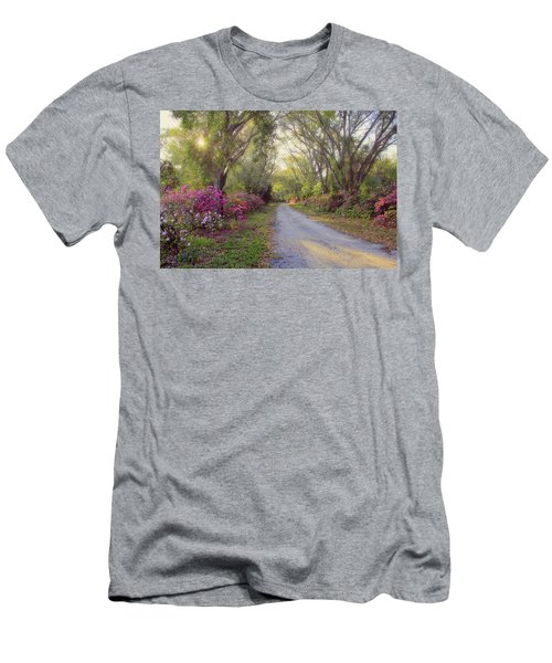 Azalea Lane By H H Photography Of Florida Men's T-Shirt (Athletic Fit)