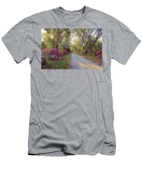 Azalea Lane By H H Photography Of Florida Men's T-Shirt (Athletic Fit)