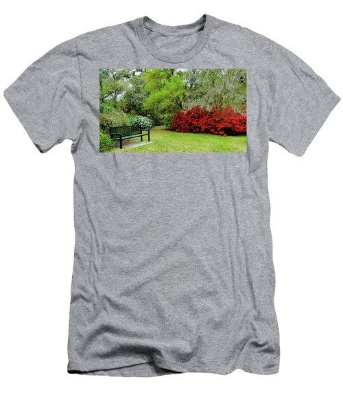 Azalea Time Men's T-Shirt (Athletic Fit)