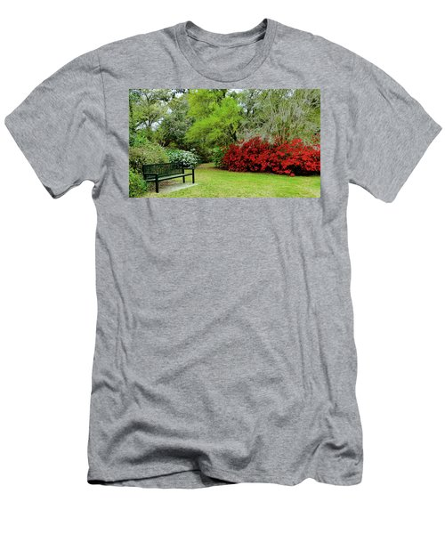 Azalea Time Men's T-Shirt (Athletic Fit)