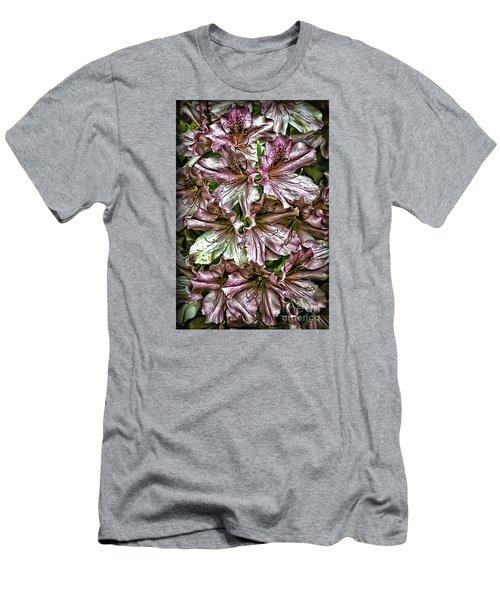 Azaleas Men's T-Shirt (Slim Fit) by Walt Foegelle