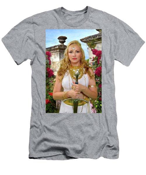 Azna Men's T-Shirt (Slim Fit) by David Clanton